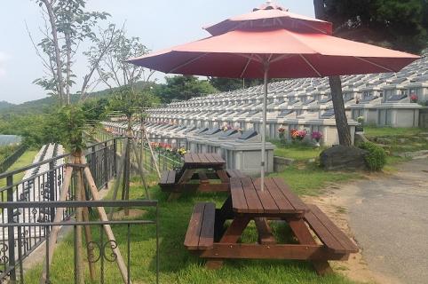납골묘 by 해담장묘산업